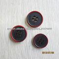botón del poliester 4 agujeros