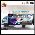 Movible 5D cinema equipamiento en carro