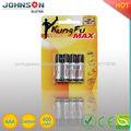 AAA/R03 Zinco-carbono bateria de 1.5V pilha palito
