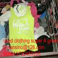 ropas usadas venta al por mayor