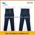 Las mujeres los pantalones vaqueros de la manera, venta caliente, buen diseño y un nuevo diseño