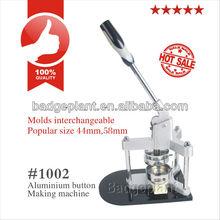 Insignia de la fabricación de la máquina #1002 con 37mm molde