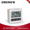 solar de radio controlados reloj con termómetro