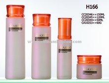 pompe à bouteille en verre cosmétique pour les femmes