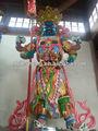 china ningob 10 yerars de madeira tall estátua do buda para tample ou jardim