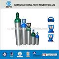 2014 10l de aluminio del cilindro de gas de aluminio co2 cilindros de gas