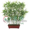 125cm 10 ramos mini-artificial planta de bambu