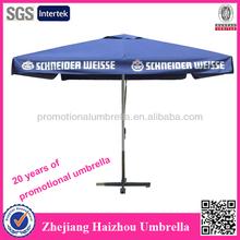 4 paneles cuadrados de publicidad sombrilla restaurante al aire libre paraguas