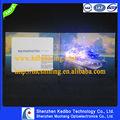 flash led de papel de tarjetas de felicitación de la fábrica