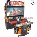 """ 52 55"" rambo moeda operado arcade grande vídeo tiro máquina de jogo simulador"