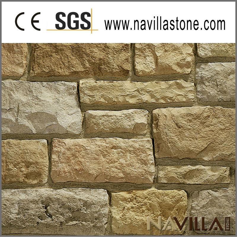 Piedra de la pared exterior decoraci n - Decoracion paredes de piedra ...
