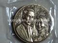 Británica de bronce antiguo de la moneda/de bronce de la moneda de recuerdo