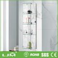 de la manera económica de madera estante de la pared cubo de estante de exhibición