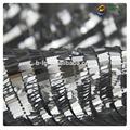 design colorido tecido elegante bailange 100 algodão tecido bordado de lantejoulas para roupas