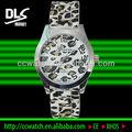 Silicone bande gh-718 léopard, dame watch montre femme montre alibaba gros en chine