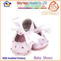 venta al por mayor de verano prewalker tela de algodón de un solo zapatos de bebé 0 3 meses