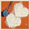 decoração da forma do coração patch chiffon de roupas made in china