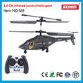 caliente miniinfrarrojos airwolf plano del rc con el girocompás rc helicóptero
