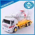 brinquedo plástico do carro a pilhas do carro de brinquedo brinquedos do caminhão de cimento