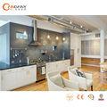 Modern branco alto brilho laca armário da cozinha para a venda, mdf do armário de cozinha