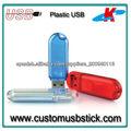 personalizado diseño del logotipo de plástico usb stick 32g