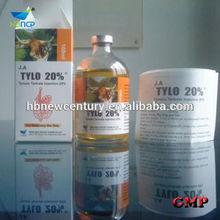 De inyección de tilosina 20%