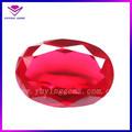 Forma oval coríndon sintético/criado ruby