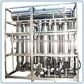columna de destilación multi de la planta de agua