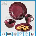 16pcs for 4 person ceramic porcelain dinnerware wholesale