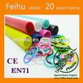 2014 caliente venta al por mayor de bricolaje colorido bandas telar niños baratos pulseras de goma banda