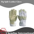 las mujeres de cerdo dividir guantes de invierno guantes