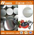 círculo de aluminio