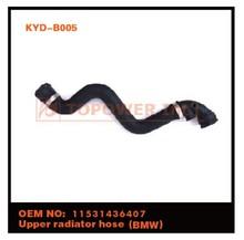 de alta presión de la tubería de goma epdm radiador manguera de aire para bmw completooem 11531436407