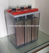 rechargeable longue durée de vie 2v800ah opzs batterie solaire batterie pour ups