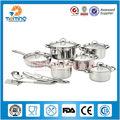 16pcs utensilios de cocina de acero inoxidable fijado con 4pcs utensilios de cocina