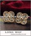 moda pendientes grandes joyas
