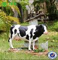 melhor venda de produtos de resina animal jardim decoração vaca leiteira