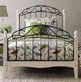 estilo barroco muebles del dormitorio cama de madera de metal