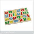 py1103 de madera rompecabezas del alfabeto juguete para los niños