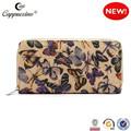 nuevo 2015 mejor caliente venta de alta calidad clásico diseño de la mariposa mujer cartera de lona