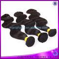 Nuevos productos en la onda del cuerpo del pelo brasileño virginal el mercado de China