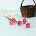 hecho a mano flores en miniatura de colección de flores de la arcilla