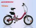 Pulgadas 20 8 diversión motor eléctrico plegable bicicleta eléctrica - - tz204