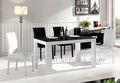 de alto brillo mesa de comedor muebles para el hogar