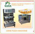 caliente la venta de pizza cono de la máquina