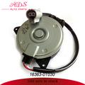 Japonês feito de condicionador de ar do ventilador do motor para toyota corolla oem: 16363- 0t030