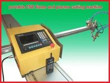 Mini máquina de corte de acero al carbono de llama del CNC