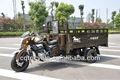 Triciclo com o vagão/triciclo motorizado