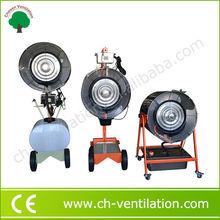 Por Impresión ventilador de pedestal taller con agua pulverizada
