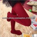 Danza del vientre Navidad fiesta alta calidad pura medias Celebrity invierno cálido raya Vertical roja brillante chicas mujeres